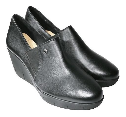 Zapato Para Dama Mykonda Negro Hispana 6362