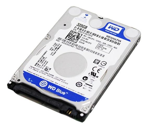 Disco Duro 2.5´ 320gb Sata Western Digital Laptop Pc Sellado