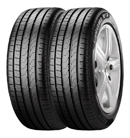 Combo X2 Neumaticos Pirelli 205/45r17 88v Xl P7cin Cuotas