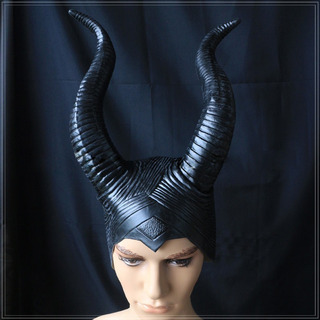 Chifres Malévola Original Máscara Maleficent Frete Gratis