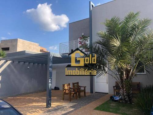 Casa Com 3 Dormitórios À Venda, 245 M² Por R$ 902.000.000 - Distrito De Bonfim Paulista - Ribeirão Preto/sp - Ca0909