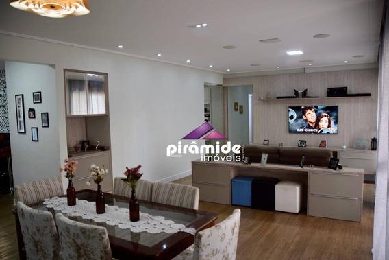 Apartamento Com 3 Dormitórios À Venda, 156 M² Por R$ 850.000,00 - Jardim Das Indústrias - São José Dos Campos/sp - Ap11383