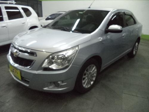 Chevrolet Cobalt Ltz 1.4 Flex 5p Completo 2012 Prata