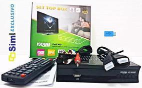 Kit 5 Conversor E Gravador Tv Digital Sinal Hdtv Hdmi Fullhd