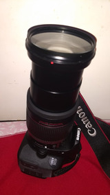 Canon 650d T4i + Efs-18-200 So 4k Cliksc 16gb Bolsa Acessori