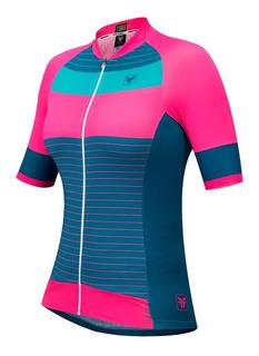 Camisa Blusa Ciclismo Feminina Bike Free Force Sleaze