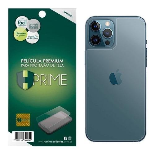 Imagem 1 de 5 de Película Traseira iPhone 12 Pro Max 6.7 Invisível Hprime Top