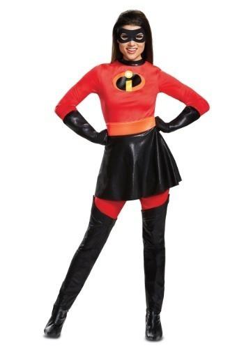 cbd9d63c2 Disfraz Mujer Sra Increíble Traje Los Increibles Halloween -   2