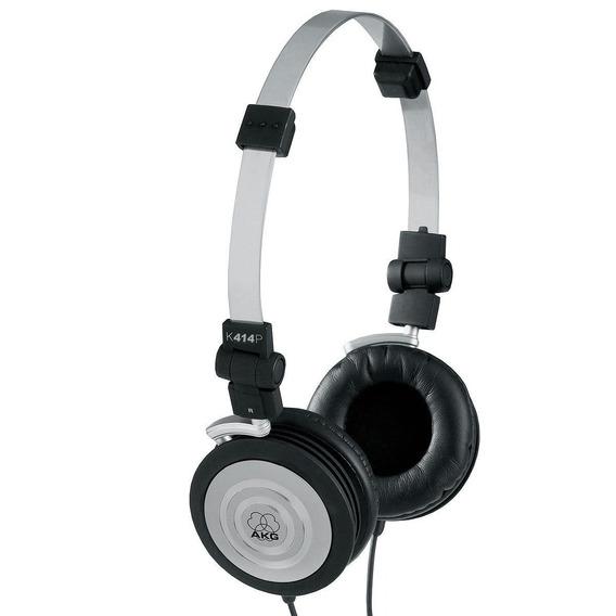 Fone De Ouvido Para Retorno De Bandas On-ear K414p - Akg