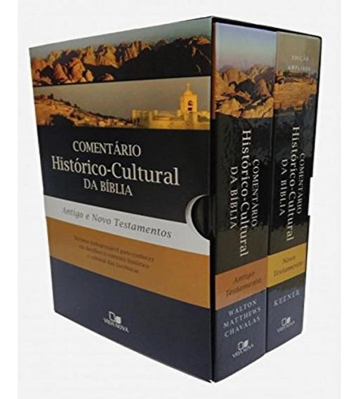 Box - Comentario Historico-cultural Da Biblia Antigo E Novo