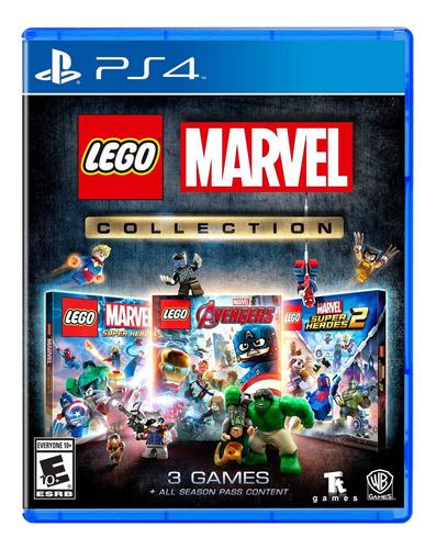 Lego Marvel Collection Ps4 Formato Fisico Original