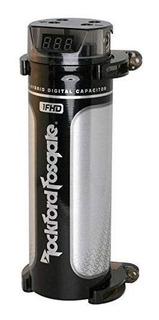 Rockford 1farad Hybrid Digital Condensador, Negro