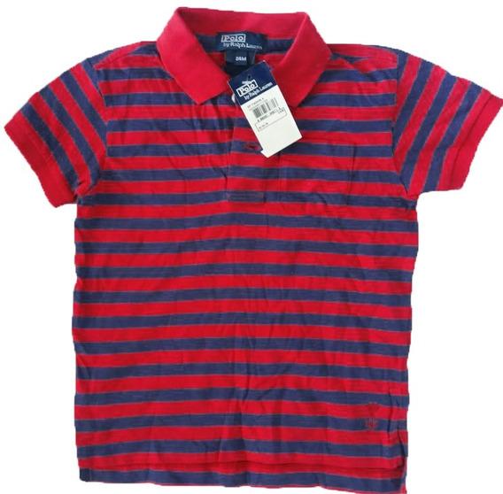 Camisa Pólo Bebê Ralph Lauren Original - Tam 24 Meses