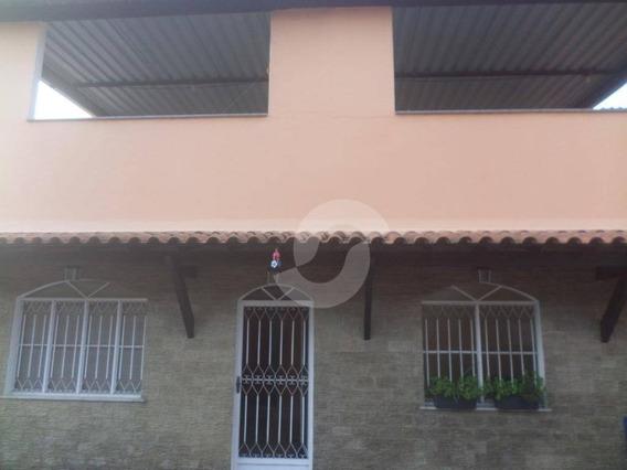 Casa Duplex Com 3 Quartos, Jardim Fluminense, São Gonçalo. - Ca1503