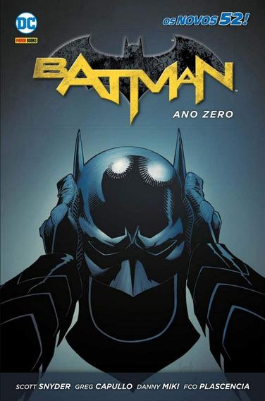 Hq - Batman - Ano Zero - Capa Dura