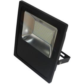 Refletor Led Slim 100w Luz Amarela 3.000k Bivolt-blumenau-74