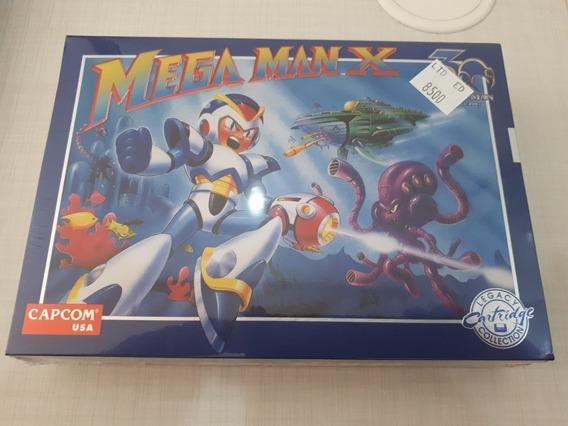Megaman X 30th Anniversary Limited Edition Nintendo Mega Man