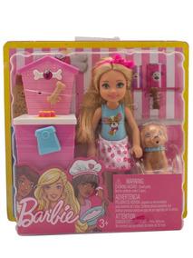 Playset Barraca Lanches Da Chelsea Barbie Mattel Fhp67 + Nfe