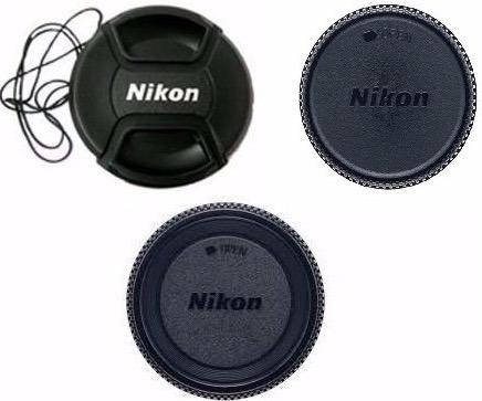 Kit 3 Tampa Nikon Lente 18-135 18-105 18-140 D90 67mm Ø67