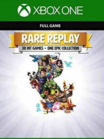 Rare Replay Xbox One Xone Código De 25 Dígitos Envio Rápido
