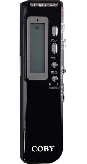 Gravador Digital De Voz Telefônico E Mp3 Player Coby Cvr20