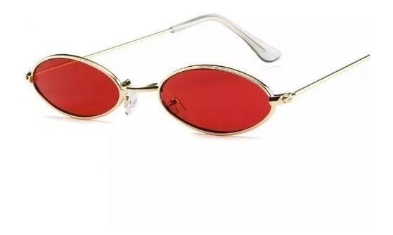 Óculos Oval Redondo Pequeno Trap Hype Retro Moda Antiga