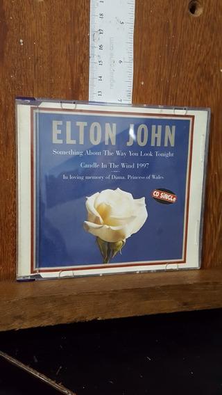 Cd Elton John - In Love Memory Of Diana - Cd Single