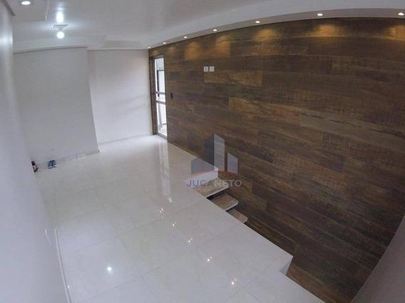 Cobertura Com 2 Dormitórios À Venda, 93 M² Por R$ 307.400 - Parque São Vicente - Mauá/sp - Co0074