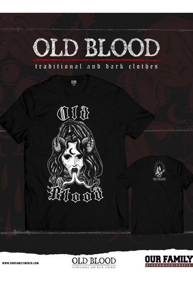 Remera Old Blood