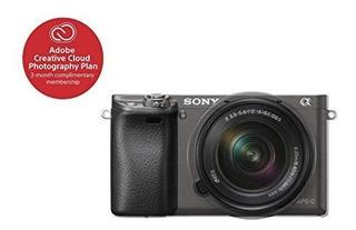 Camara Digital Sony Alpha A6000 Mirrorless Digital Camera Wi