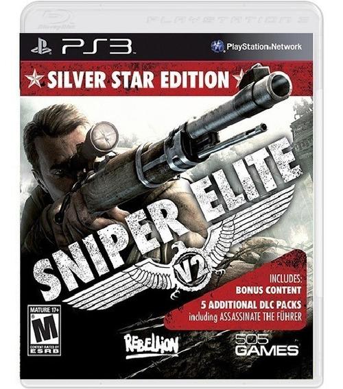 Sniper Elite V2 Silver Star Edition - Mídia Física / Ps3