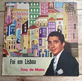 Lp Tony De Matos Foi Em Lisboa 1969