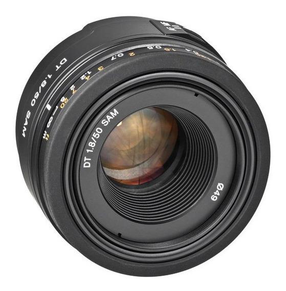 Lente Sony Dt 50mm F/1.8 Sam A-mount (sal50f18) - Nova