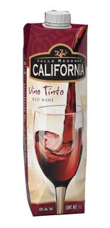 Vino Tinto California Tetra Brik 1000 Ml.*