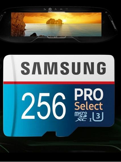 Cartão De Memória 256gb Pro Select Samsung. Leitor Gratis