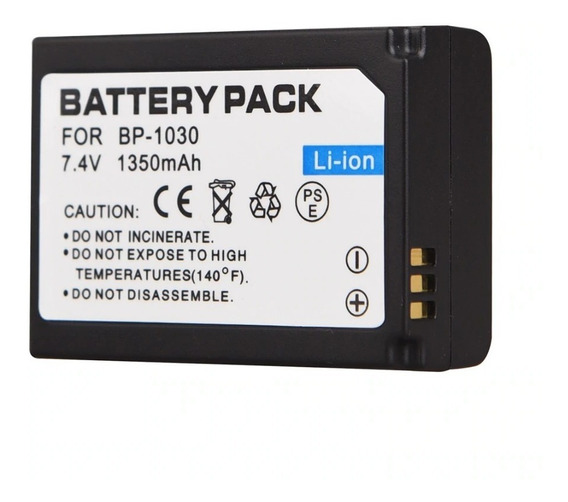 Bateria Bp1030 / Para Samsung Nx200 Nx210 Nx300 Nx300m ..