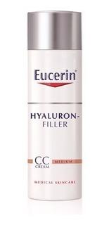 Eucerin Hyaluron Filler Cc Crema Antiedad Pigmento Tono Medi