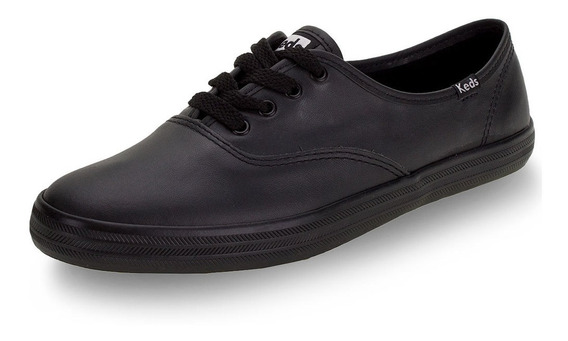 Tênis Champion Leather Keds - Kd10 Preto