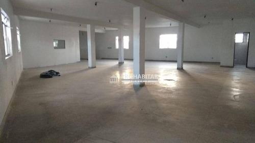 Imagem 1 de 6 de Salão Para Alugar, 220 M² Por R$ 4.500,00/mês - Cidade Dutra - São Paulo/sp - Sl0240