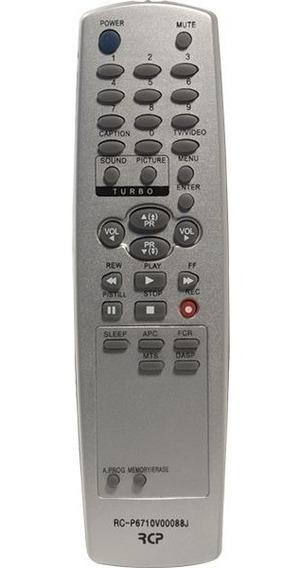Controle Remoto Rcp Para Tv Goldstar Lg Rcp 6710 V 00088j*
