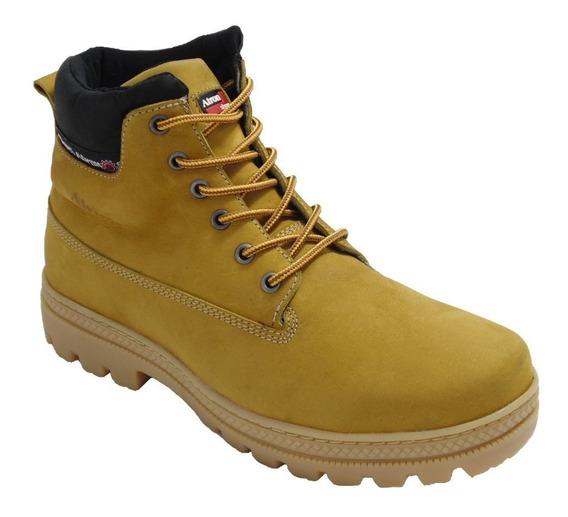 Coturno Bota Yellow Boots Estilo Americano Lançamento Moda