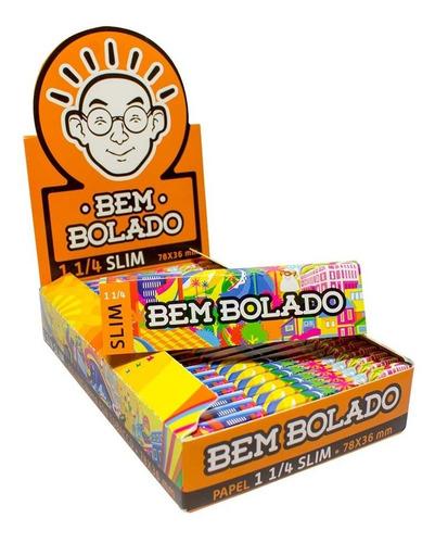 Caixa De Seda Bem Bolado Pop 1 1/4 Slim Original Atacado