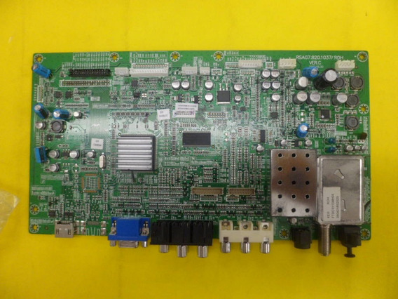 Placa Principal Rsag7.820.1037/roh Gradiente - Cyber