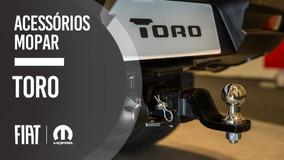 Engate De Reboque Fiat Toro + Chicote Peças Originais Fiat