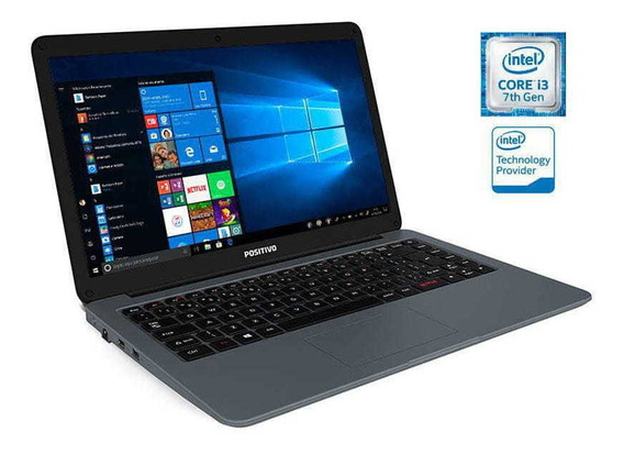 Notebook Positivo Core I3 4gb Ram 128gb Ssd 14 Win 10 Home