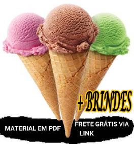 Manual De Fabricação De Sorvetes E Picolés Frete Grátis
