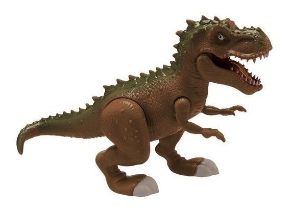 Dinossauro Tirano Rex Attack Tiranossauro C/ Som- Adijomar