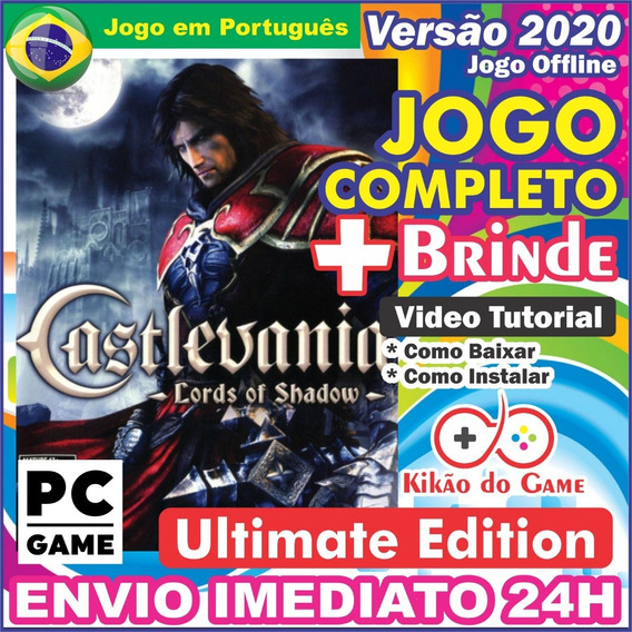 Castlevania Lords Of Shadow Ultimate Pc Digital Br + Brinde