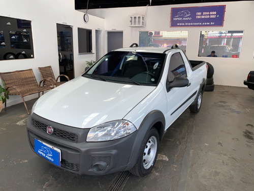 Fiat Strada Working 1.4 Branco 2015
