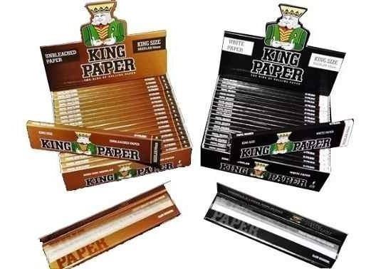 10 Caixas King Paper 5 Brown 5 Preta Com 20 Cada E Frete0800